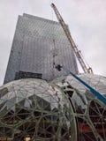 Amazonki Seattle kwatery główne - biosfery w budowie Obraz Stock