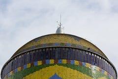 Amazonki Theatre z niebieskim niebem, opera w Manaus, Brazylia obrazy royalty free