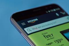 Amazonki zastosowania menu Obrazy Stock