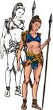 Amazons 13. ilustração royalty free