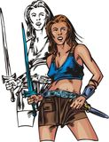 Amazons 2. ilustração stock