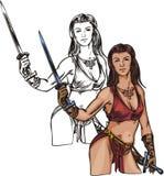 Amazons 4. ilustração royalty free