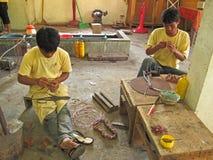 Ambacht in Kambodja stock afbeelding