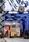 Ambarli port, Istanbul Royaltyfri Foto