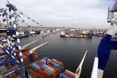 Ambarli port, Istanbul Arkivfoton
