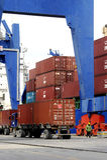 Ambarli Port,Istanbul Stock Images