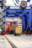 Ambarli Port,Istanbul Royalty Free Stock Photo