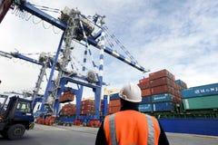 Ambarli Port,Istanbul Stock Image