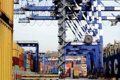 Ambarli Port,Istanbul Royalty Free Stock Images