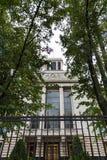 Ambasada federacja rosyjska w Niemcy fotografia royalty free
