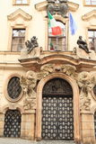 Ambasada Włochy w Praga Zdjęcia Stock
