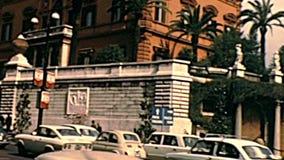 Ambasciata degli Stati Uniti di Roma stock footage