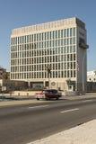 Ambasciata degli Stati Uniti Havana Cuba Fotografia Stock