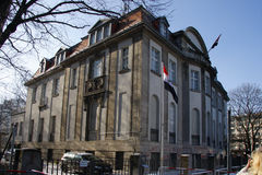 Ambasciata siriana Berlino Fotografia Stock Libera da Diritti