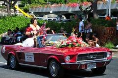 Ambasciatore aloha di 2010 Fotografie Stock