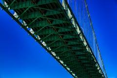 Ambasciatore Bridge, Windsor, Ontario, Canada immagini stock