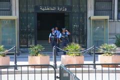 Ambassad av Tunisien Arkivfoton