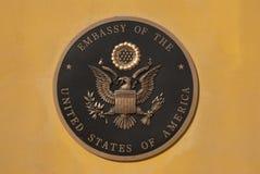 ambassad kabul oss arkivbild
