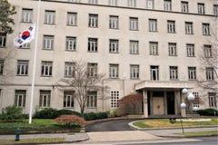 Ambassade de la Corée du Sud dans le Washington DC photographie stock