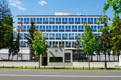 Ambassade des Etats-Unis à Varsovie, Pologne Images stock