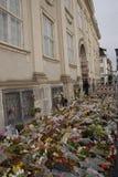AMBASSADE DU TERRORISTE ATTACKED_FRENCH DE PARIS photos libres de droits