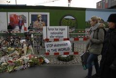 AMBASSADE DU TERRORISTE ATTACKED_FRENCH DE PARIS photo stock