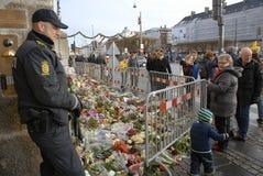 AMBASSADE DU TERRORISTE ATTACKED_FRENCH DE PARIS image libre de droits