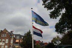 Ambassade van Aruba in de stad van Den Haag waar alle diplomaten in Nederland werken royalty-vrije stock afbeeldingen