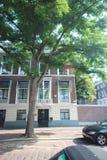 Ambassade van Griekenland in de stad van Den Haag waar alle diplomaten in Nederland werken stock foto
