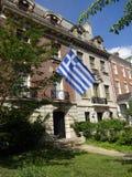Ambassade van Griekenland in Washington DC Stock Afbeelding
