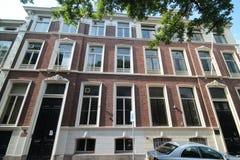 Ambassade van Kameroen in de stad van Den Haag waar alle diplomaten in Nederland werken royalty-vrije stock foto's