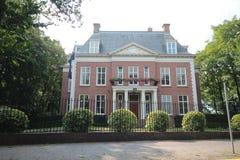 Ambassade van Nieuwe Sealand in de stad van Den Haag waar alle diplomaten in Nederland werken stock afbeelding