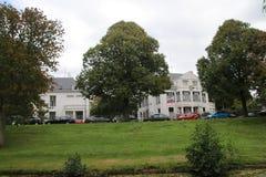 Ambassade van Rusland in de stad van Den Haag waar alle diplomaten in Nederland werken royalty-vrije stock afbeelding