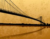 Ambassador Bridge Stock Image