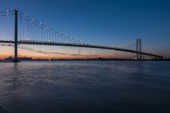 Ambassador bridge Stock Photography