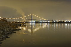 Ambassador Bridge Royalty Free Stock Photo