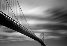 Ambassador Bridge Detroit Stock Photos