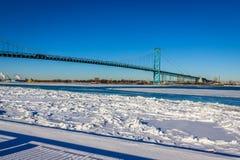 Ambassador Bridge Stock Image