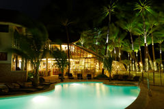 Ambassador in Paradise hotel of Boracay island Stock Photo