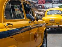 Ambassador Taxi Stock Image