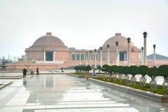 Ambedkar Memorial Park jest jawnym parkiem pomnikiem w Lucknow i, Uttar Pradesh, India Fotografia Royalty Free