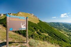 ` Ambel Vercors, Francia di Le Col de la Bataille et delle plateau d Immagini Stock Libere da Diritti
