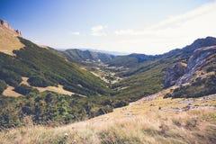 ` Ambel Vercors, Francia di Le Col de la Bataille et delle plateau d Fotografia Stock Libera da Diritti