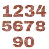 Amber ή αριθμοί σύστασης ρητίνης πεύκων Στοκ Εικόνες