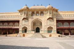 Amber. Main entrance to the Amber Palace. Jaipur, India Stock Photography