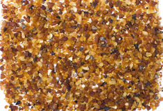 Amber. Little pieces of amber found on Baltic beach Royalty Free Stock Photos