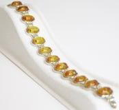Amber Armband Royalty-vrije Stock Afbeeldingen