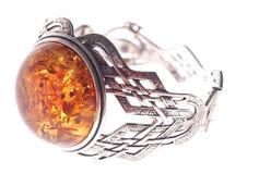 Amber armband Stock Afbeelding