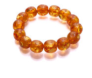 Amber Armlet isolated Royalty Free Stock Photo
