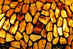 Amber background Stock Images